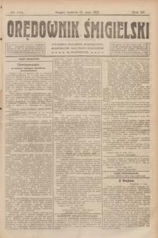 Orędownik Śmigielski. R.32, nr 116 (21 maja 1922)