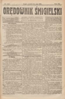 Orędownik Śmigielski. R.32, nr 119 (25 maja 1922)