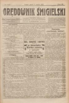 Orędownik Śmigielski. R.32, nr 125 (2 czerwca 1922)