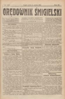 Orędownik Śmigielski. R.32, nr 126 (3 czerwca 1922)