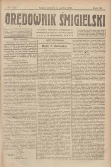 Orędownik Śmigielski. R.32, nr 127 (4 czerwca 1922)