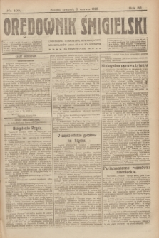 Orędownik Śmigielski. R.32, nr 129 (8 czerwca 1922)