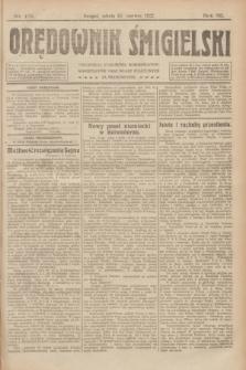 Orędownik Śmigielski. R.32, nr 131 (10 czerwca 1922)