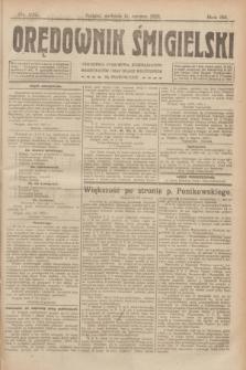 Orędownik Śmigielski. R.32, nr 132 (11 czerwca 1922)