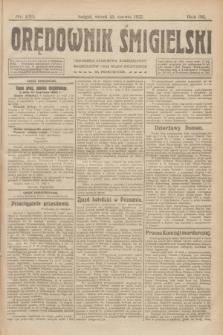 Orędownik Śmigielski. R.32, nr 133 (13 czerwca 1922)