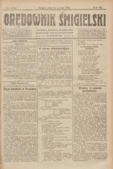 Orędownik Śmigielski. R.32, nr 134 (14 czerwca 1922)