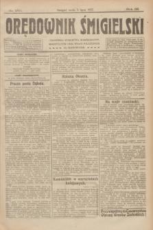Orędownik Śmigielski. R.32, nr 150 (5 lipca 1922)