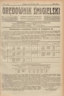 Orędownik Śmigielski. R.32, nr 156 (12 lipca 1922)