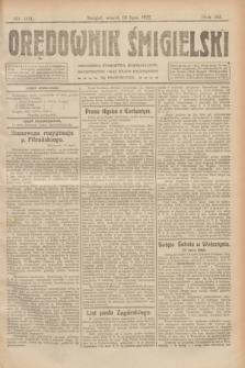 Orędownik Śmigielski. R.32, nr 161 (18 lipca 1922)