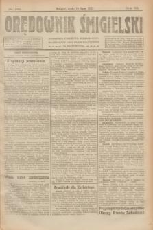 Orędownik Śmigielski. R.32, nr 162 (19 lipca 1922)