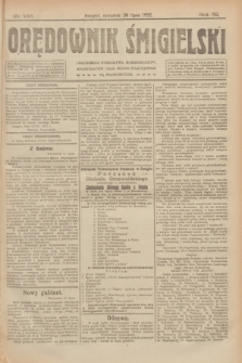 Orędownik Śmigielski. R.32, nr 163 (20 lipca 1922)