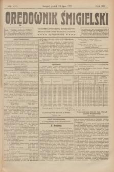 Orędownik Śmigielski. R.32, nr 170 (28 lipca 1922)