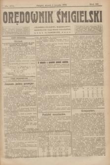 Orędownik Śmigielski. R.32, nr 173 (1 sierpnia 1922)