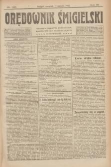 Orędownik Śmigielski. R.32, nr 186 (17 sierpnia 1922)
