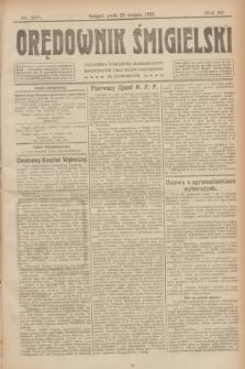 Orędownik Śmigielski. R.32, nr 190 (23 sierpnia 1922)