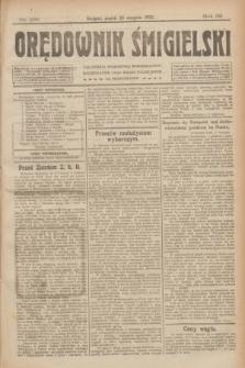 Orędownik Śmigielski. R.32, nr 192 (25 sierpnia 1922)
