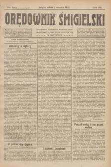 Orędownik Śmigielski. R.32, nr 199 (2 września 1922)