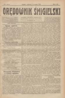 Orędownik Śmigielski. R.32, nr 200 (3 września 1922)