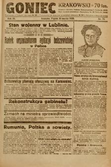 Goniec Krakowski. 1920, nr78
