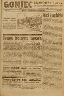 Goniec Krakowski. 1920, nr81