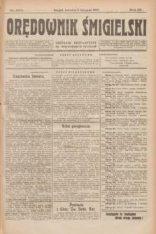 Orędownik Śmigielski : dziennik bezpartyjny dla wszystkich stanów. R.32, nr 256 (9 listopada 1922)