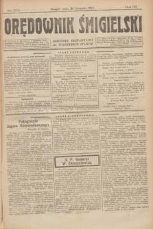 Orędownik Śmigielski : dziennik bezpartyjny dla wszystkich stanów. R.32, nr 273 (29 listopada 1922)