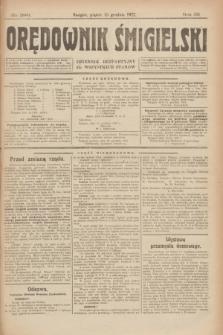 Orędownik Śmigielski : dziennik bezpartyjny dla wszystkich stanów. R.32, nr 286 (15 grudnia 1922)