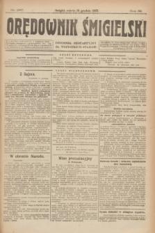 Orędownik Śmigielski : dziennik bezpartyjny dla wszystkich stanów. R.32, nr 287 (16 grudnia 1922)