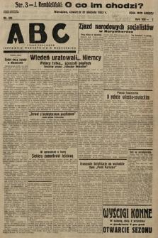 ABC : pismo codzienne : informuje wszystkich o wszystkiem. 1933, nr251  PDF 