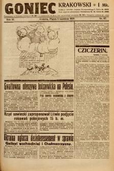 Goniec Krakowski. 1920, nr97