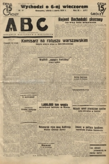 ABC : pismo codzienne : informuje wszystkich o wszystkiem. 1934, nr61  PDF 