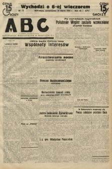 ABC : pismo codzienne : informuje wszystkich o wszystkiem. 1934, nr77 |PDF|