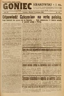 Goniec Krakowski. 1920, nr101