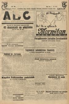 ABC : pismo codzienne : informuje wszystkich o wszystkiem. 1934, nr102 |PDF|