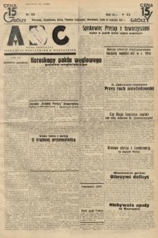 ABC : pismo codzienne : informuje wszystkich o wszystkiem. 1934, nr104 |PDF|