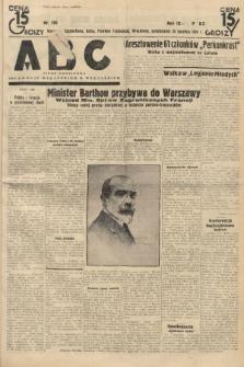 ABC : pismo codzienne : informuje wszystkich o wszystkiem. 1934, nr109 |PDF|