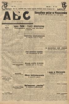 ABC : pismo codzienne : informuje wszystkich o wszystkiem. 1934, nr112 |PDF|
