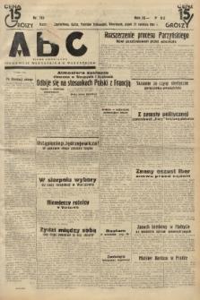 ABC : pismo codzienne : informuje wszystkich o wszystkiem. 1934, nr113 |PDF|