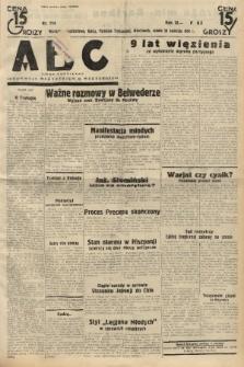 ABC : pismo codzienne : informuje wszystkich o wszystkiem. 1934, nr114 |PDF|