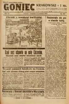 Goniec Krakowski. 1920, nr103
