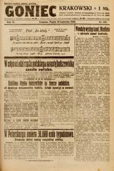 Goniec Krakowski. 1920, nr104