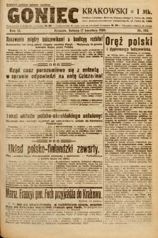 Goniec Krakowski. 1920, nr105