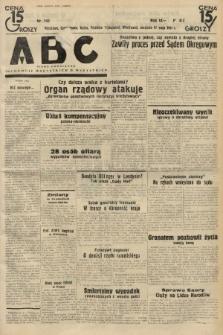 ABC : pismo codzienne : informuje wszystkich o wszystkiem. 1934, nr142  PDF 