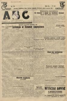 ABC : pismo codzienne : informuje wszystkich o wszystkiem. 1934, nr155  PDF 