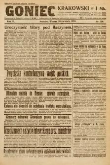 Goniec Krakowski. 1920, nr108
