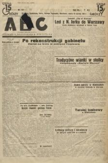 ABC : pismo codzienne : informuje wszystkich o wszystkiem. 1934, nr177 |PDF|