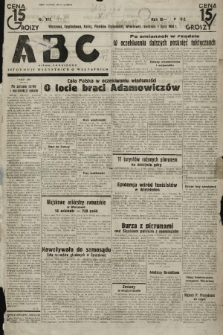 ABC : pismo codzienne : informuje wszystkich o wszystkiem. 1934, nr178 |PDF|
