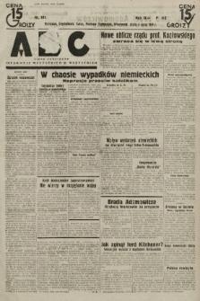 ABC : pismo codzienne : informuje wszystkich o wszystkiem. 1934, nr181 |PDF|