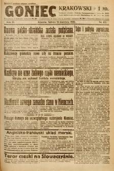 Goniec Krakowski. 1920, nr112
