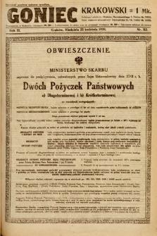 Goniec Krakowski. 1920, nr113